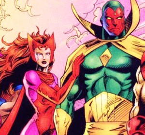 Comic Couples: Scarlet Witch and the Vision - Superhero ...