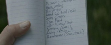 Steve's list from Captain America: The Winter Soldier UK version, image credit Marvel Studios and Walt Disney Studios Motion Pictures